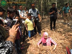 Group Cu chi Tunnel Muslim Tour 1/2 Day
